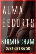 Alma Escorts - Birmingham Escorts Agency